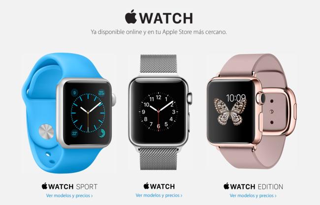 El Apple Watch ha llegado y estos son sus precios, versiones y correas en España y México