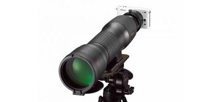 El digiscoping llega de manera oficial a las Nikon 1