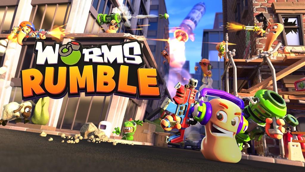 Los gusanos de Worms se pasarán a la acción más caótica en tiempo real y en forma de Battle Royale con Worms Rumble