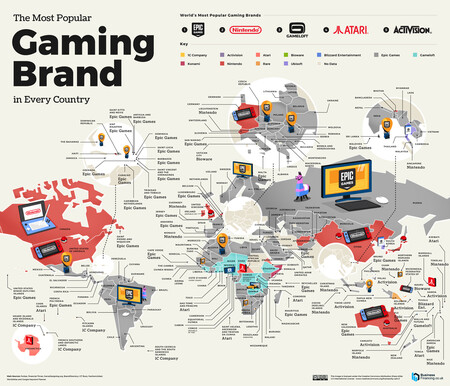 Gaming Mapa