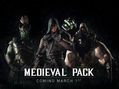 Mortal Kombat X recibe en marzo un pack de trajes medievales gratuito en Xbox One y PS4