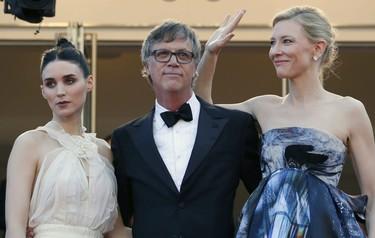 Cate Blanchett y Rooney Mara: el duelo continúa sobre la alfombra roja de Cannes