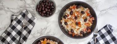 Esqueixada catalana, receta tradicional española