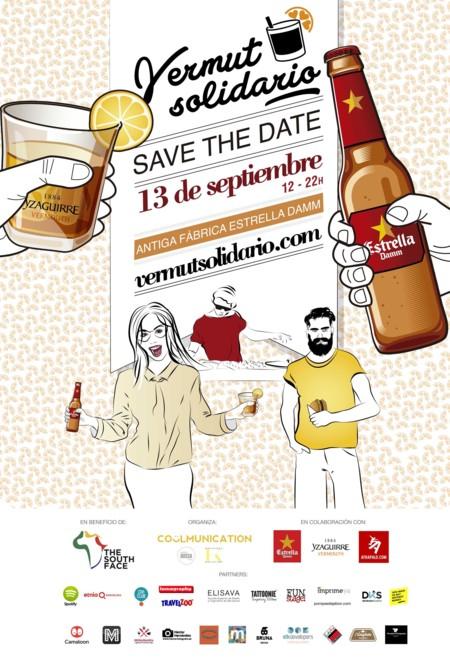 Cartel Vermut Solidario 13 Sep Br