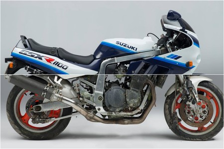 Aunque no te lo creas, esta Suzuki GSX-R1100 que parece nueva estaba para el desguace