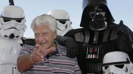 """George Lucas y Mark Hamill despiden a David Prowse: """"Dio un carácter físico a Darth Vader esencial para el personaje"""""""