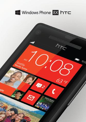 HTC 8X Filtrado