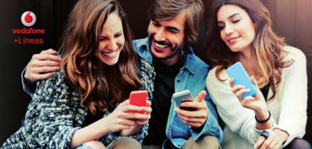 Vodafone añade nueva tarifa para líneas adicionales con 100 minutos y 2 GB