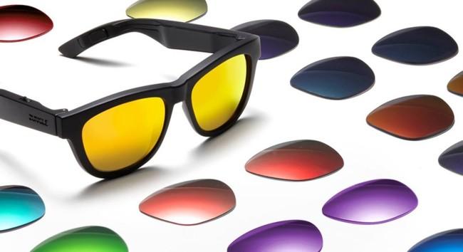 Con estas gafas podremos escuchar música pero sin conectar nada en las orejas