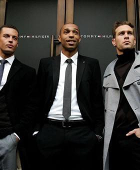 Thierry Henry presenta su nueva colección de moda