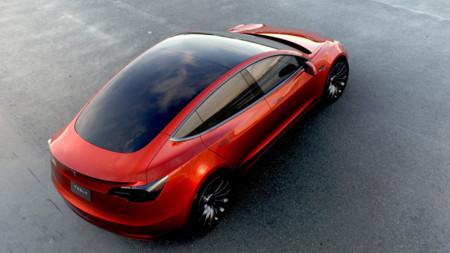 Tesla Model 3 Rojo 2560 3000