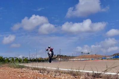 Los jóvenes de MotoGP también tienen sus momentos de asueto