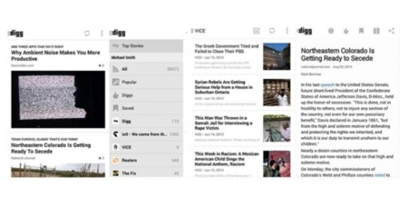 Digg para Android ya disponible