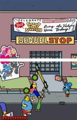 Los Simpson - El videojuego (Nintendo DS) - 02