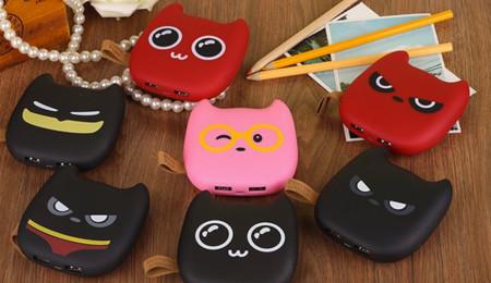 Baterías con forma de gatitos varios