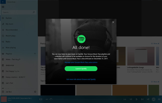 De Groove A Spotify