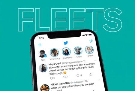Fleets Twitter Temporales