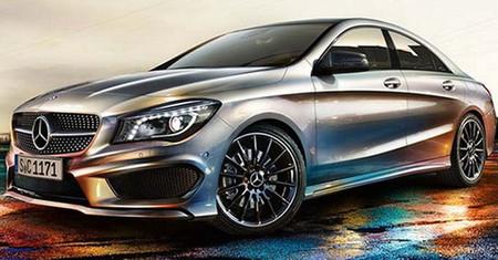 Teaser del Mercedes-Benz Clase CLA, un regalito navideño
