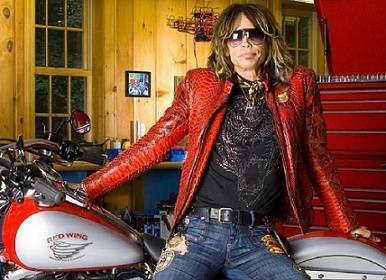 Steven Tyler crea Red Wing, su propia marca de motos
