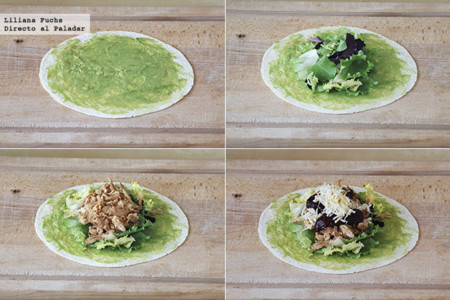 Wraps Pollo Chile Pasos
