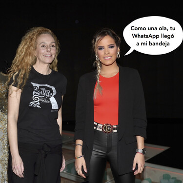 ¡Habemus acercamiento en plena crisis con Fidel! Rocío Carrasco y Gloria Camila cada día más cerca entre GIFs y stickers... ¿y más lejos de Rocío Flores?