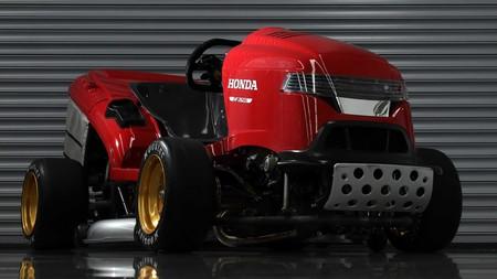 Vuelve el cortacésped Honda Mean Mower V2 con un nuevo récord Guinness: 0-160 km/h en 6,29 segundos