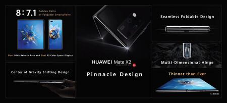 Huawei Mate X2 Oficial Pantalla Nuevo Diseno