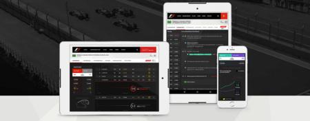 Sigue la F1 con el app oficial