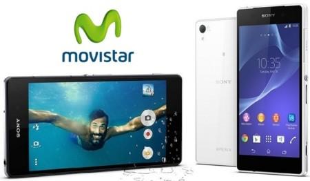 Precios Sony Xperia Z2 con Movistar y comparativa con Vodafone, Orange y Yoigo