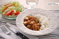 Receta de solomillo de pavo en salsa de naranja y mostaza