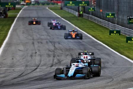 Russell Kubica Monza F1 2019