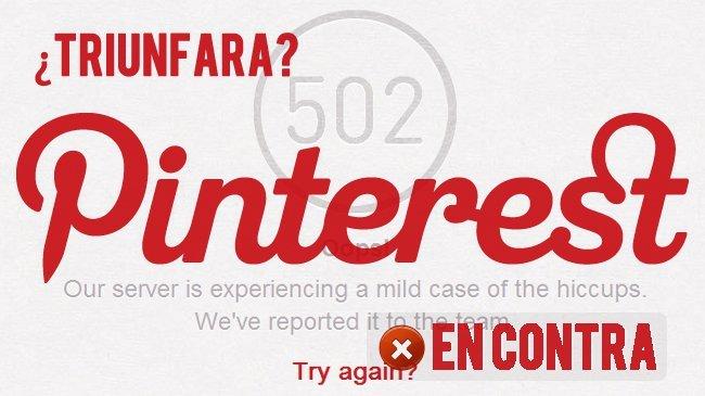 No triunfará Pinterest