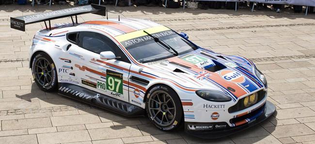La última creación de Aston Martin Racing y Gulf