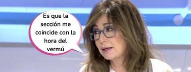 Ana Rosa Quintana desaparece de la tertulia del corazón de su programa: en el punto de mira por criticar a Rocío Carrasco sin ver la docuserie
