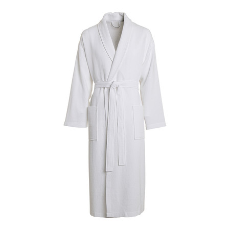 Albornoz Unisex Tipo Kimono Stone Washed El Corte Ingles