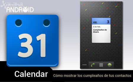 Cómo mostrar los cumpleaños de tus contactos de Android en Google Calendar