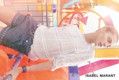 Isabel Marant y Daria Werbowy, la eterna pareja perfecta