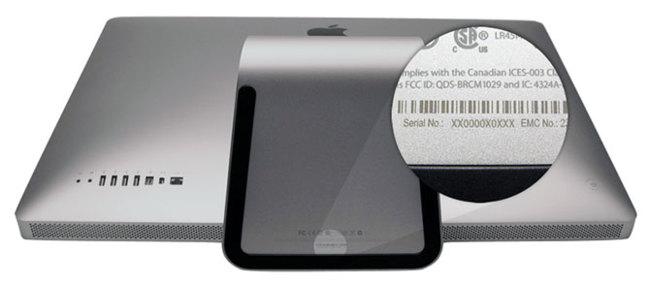 Numero de serie iMac