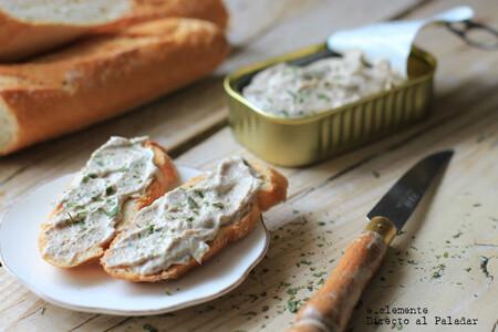 Rillette de sardinas: receta de paté marinero para el aperitivo