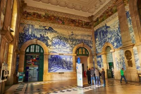 Estación Sao Bento Oporto