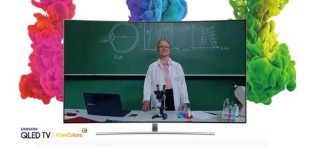 Samsung presenta  SeeColors para QLED, una app de calibración por si tenemos dificultades para percibir bien los colores