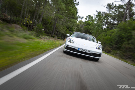 Porsche 718 Boxster GTS frontal