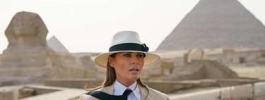 Melania Trump pasa una noche en El Cairo y su factura asciende a 95.000 dólares