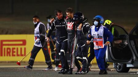 Grosjean Barein F1 2020 2