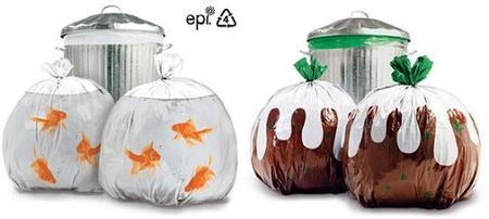 Bolsas de basura de diseño