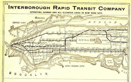 Plano metro Nueva York