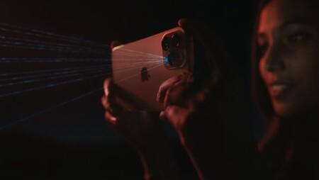LiDAR iPhone 12 pro modo noche