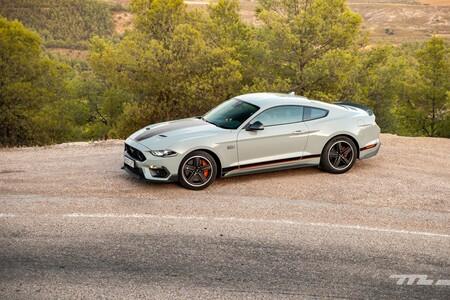 Ford Mustang Mach 1 2021 Prueba 065