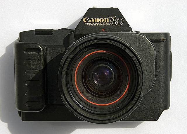 Canon T80, por Mike Caine