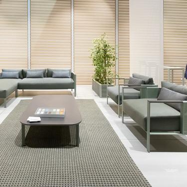 GANDIABLASCO y Cosentino se unen para presentar la colección SOLANAS de muebles de exterior